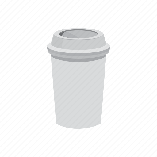 away, blank, cafe, cartoon, cup, paper, take icon