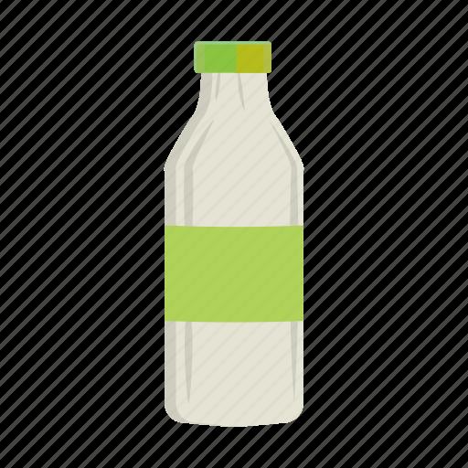 bottle cartoon dairy food milk plastic yogurt icon