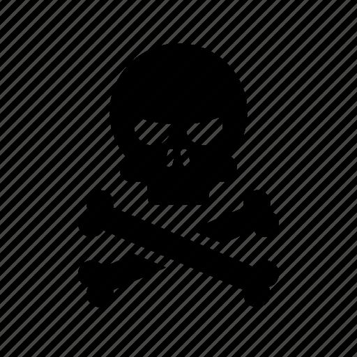 danger, poison icon