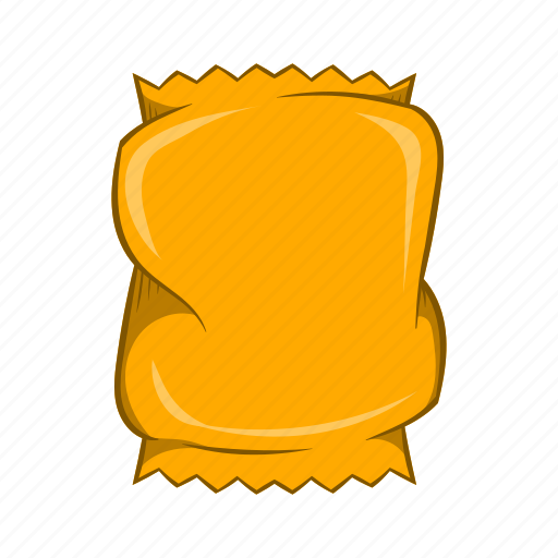 blank, cartoon, container, crumpled, pack, packaging, sign icon