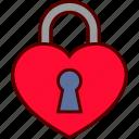 heart, lock, locked, love, padlock, secret