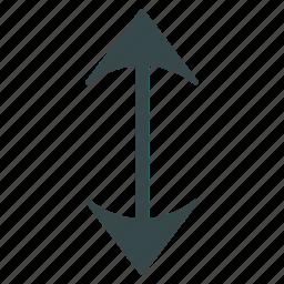 change, exchange, flip vertically, flipping, mirror, swap, vertical icon