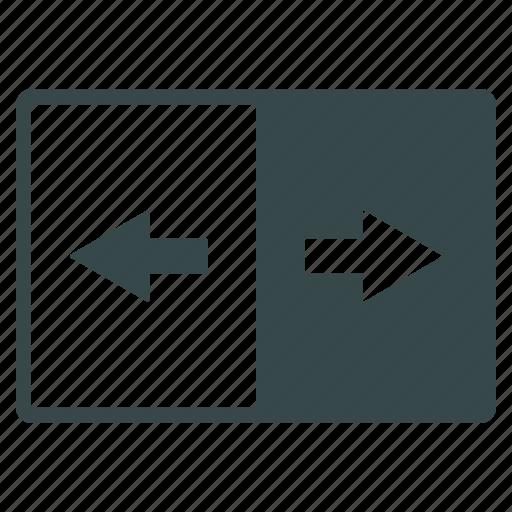 exchange, flip, inverse, invert, inverted, negative, swap icon
