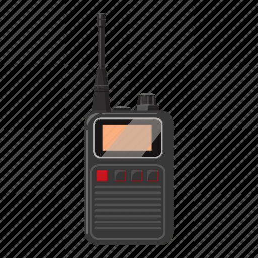 antenna, cartoon, communication, mobile, portable, radio, receiver icon