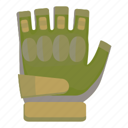 cartoon, equipment, game, glove, protection, protective, sport icon