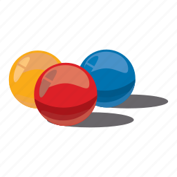 balls, cartoon, extreme, game, paint, paintball, sport icon