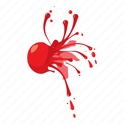 ball, cartoon, extreme, game, paint, paintball, sport icon