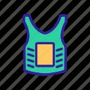 armor, ball, body, game, marker, paintball, tool