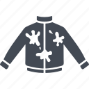 fun, jacket, paint, paintball icon