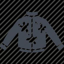 fun, jacket, paint, paintball icon