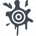 fun, game, paintball, target icon