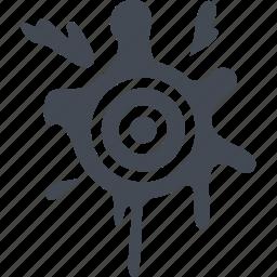 fun, game, paintball, target icon