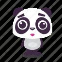 panda, sad icon