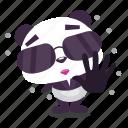 danger, hero, matrix, neo, panda, stop icon