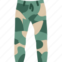 camouflage, clothes, pants