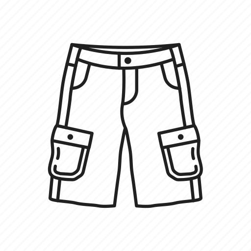belt, cargo, cargo shorts, male clothes, male shorts, shorts, shorts with belt icon