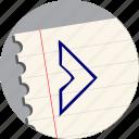 arrow, chevron, direction, navigation, next, right