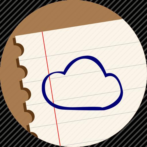 cloud, computing, data, storage icon