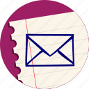 email, inbox, letter, mail, send
