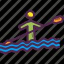 canoe, olympics, paddle, paralympic, paralympics, sprint, water