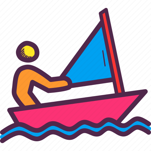 Games, olympics, paralympic, paralympics, sail, sailing, yacht icon - Download on Iconfinder