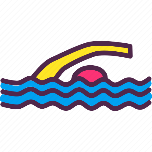 Olympics, paralympic, paralympics, swim, swimming, water icon - Download on Iconfinder