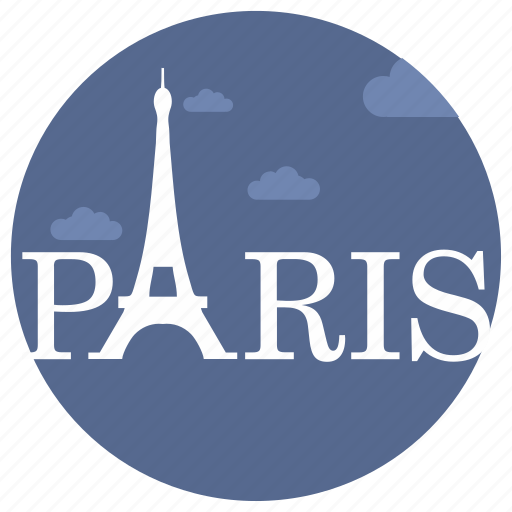eiffel, france, landmark, monument, paris, tower, travel icon