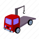 car, delivery, parking, service, tow truck icon