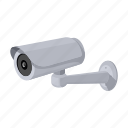 camera, equipment, instrument, parking, security, video surveillance icon