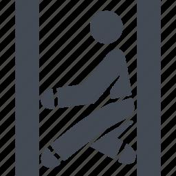 kind of sport, let, parkour, parkurist icon