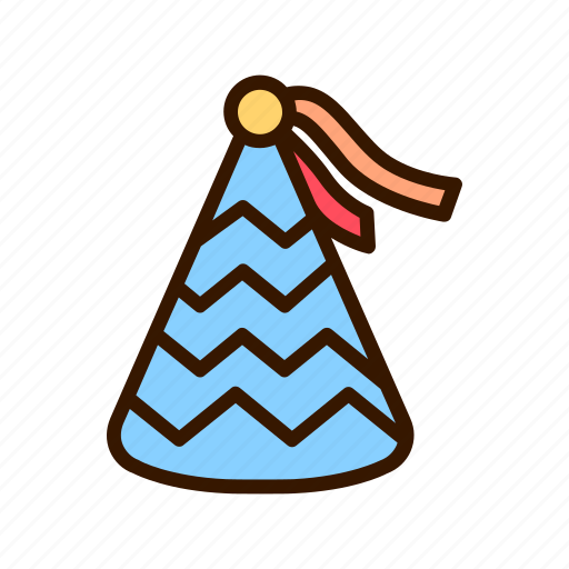 birthday, celebration, cone, event, hat, party icon