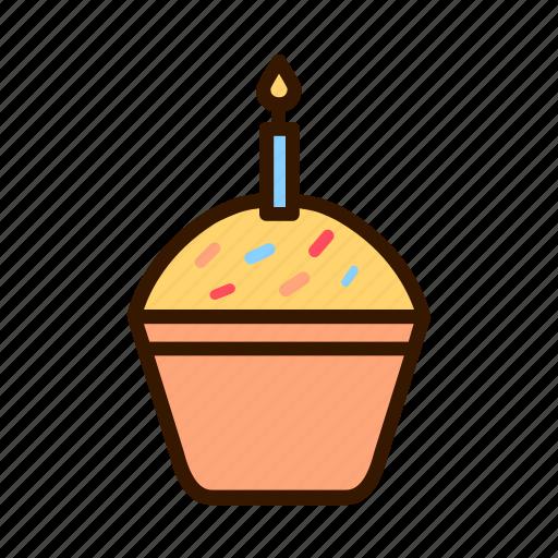 birthday, cake, celebration, event, party icon