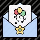 birthday, party, invitation