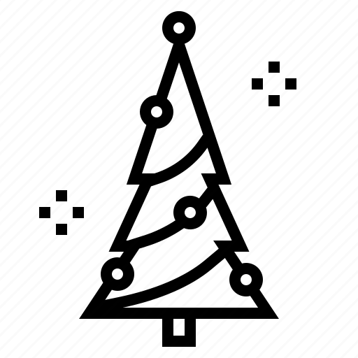 christmas, forest, garden, pine, tree, xmas icon