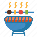 barbecue, bbq, cooking, equipment, food, grill, summertime icon
