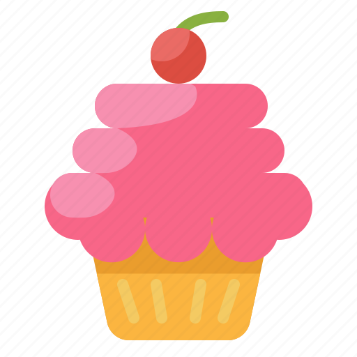baked, bakery, cupcake, dessert, muffin, sweet icon