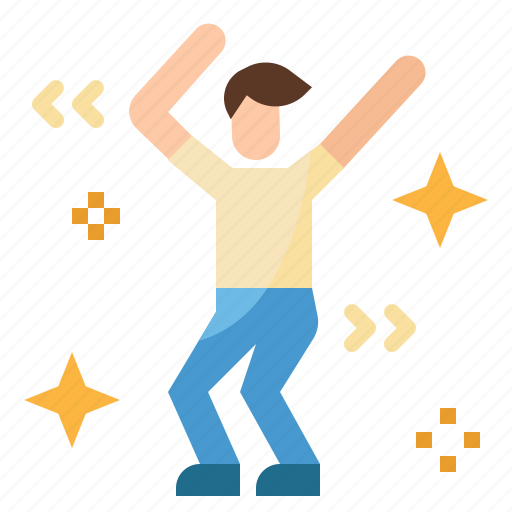 celebration, dance, dancing, happy, party, people icon