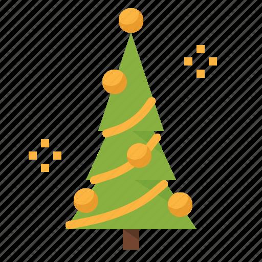 christmas, forest, garden, pine, tree, xmas icon