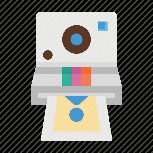 camera, digital, photo, photograph, picture, polaroid icon