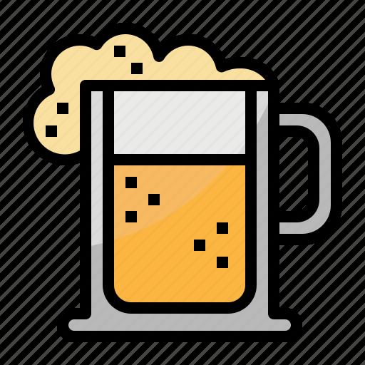 alcohol, beer, drink, drinks, jar, mug, pub icon