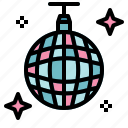 ball, club, dance, disco, mirror, party icon
