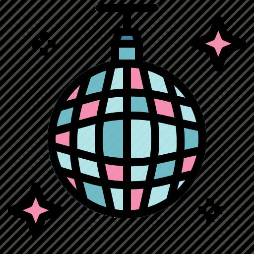 ball, club, dance, disco, mirror, party icon