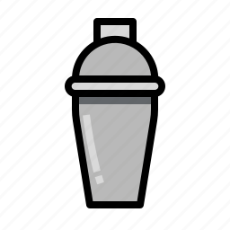alcoholic, bar, cocktails, drinks, party, shaker icon