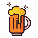beer, celebration, event, glass, happy, party icon