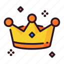 celebration, crown, event, happy, party