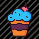 celebration, cupcake, event, happy, party icon