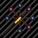 celebration, event, happy, party, sparkler icon