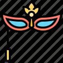 accessory, carnival, costume, mask, masquerade