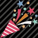 confetti, wedding confetti, party popper, confetti poppers, streamers