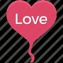 heart, heart balloon, like, love, romance, romantic, valentine